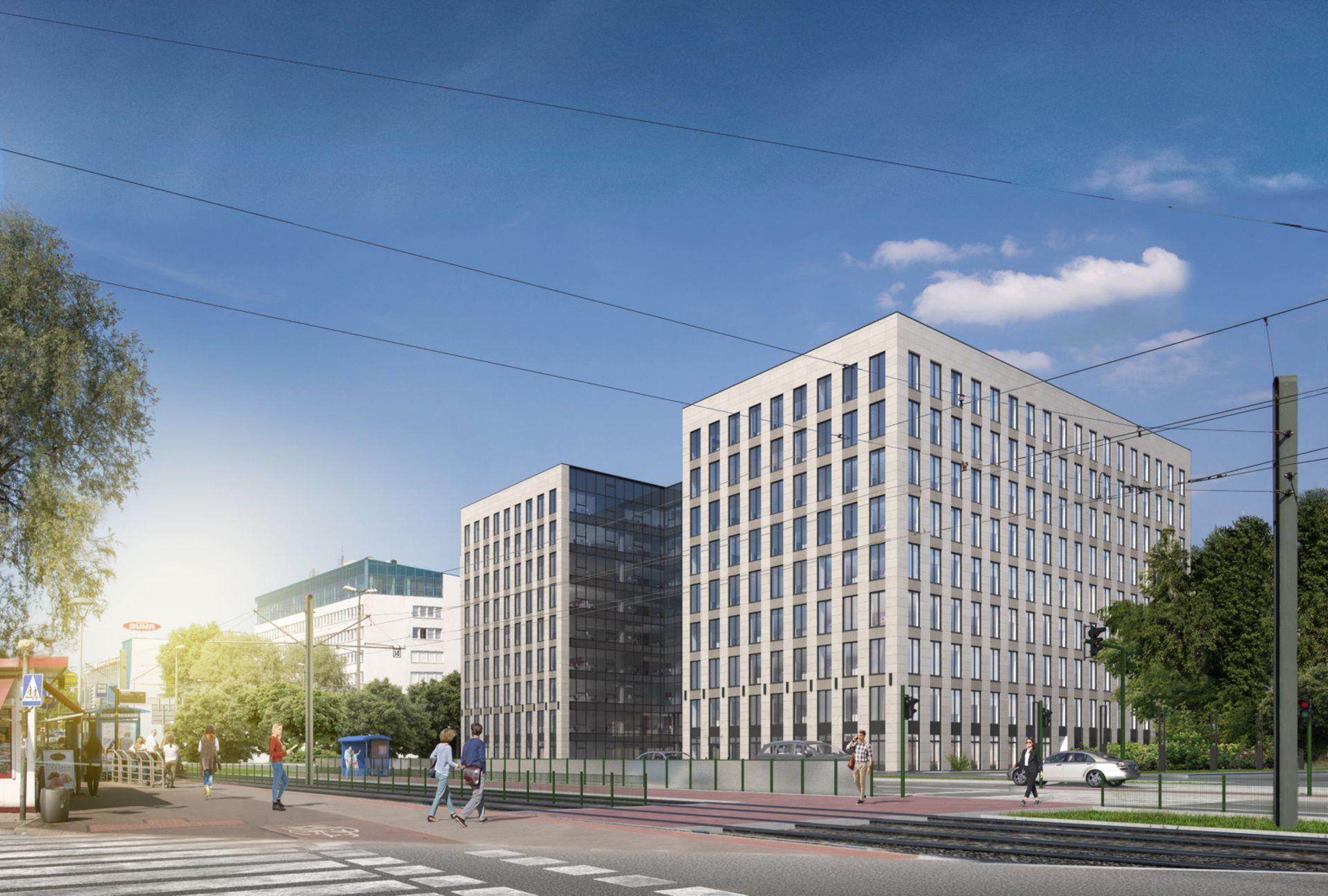 Ghelamco rozpoczęło budowę biurowca KREO w Krakowie [WIZUALIZACJE + ZDJĘCIA]