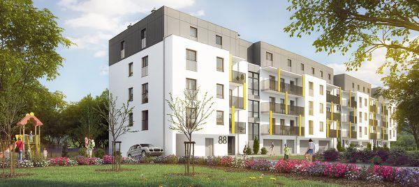 Wrocław: Opolska – Deweloper Inter-Es stawia na Księże Wielkie. Zbuduje dziesiątki mieszkań [WIZUALIZACJE]