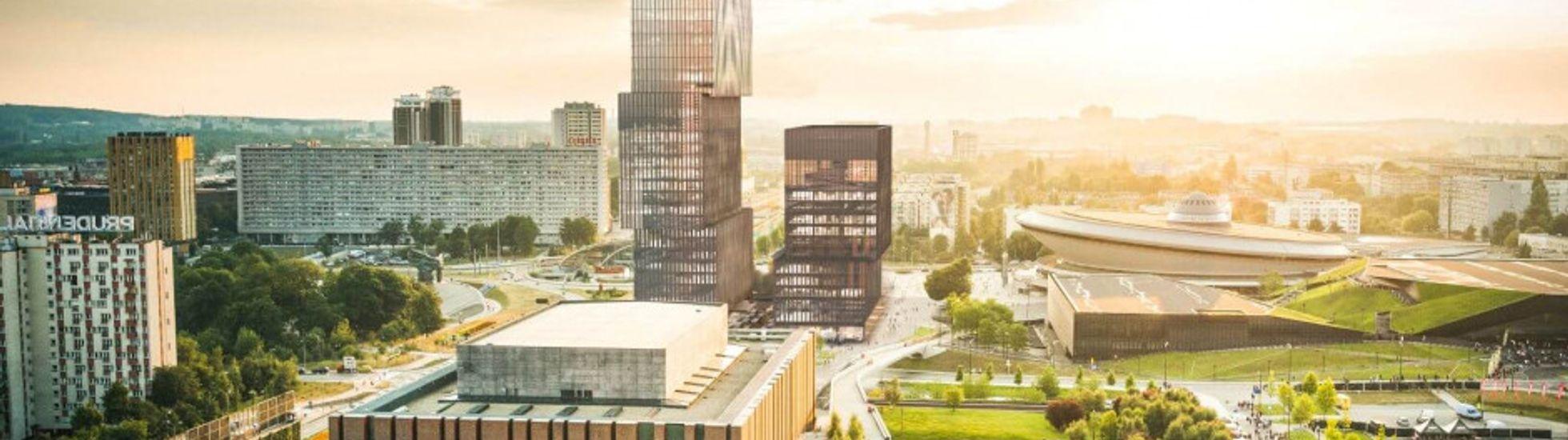 [Katowice] Biurowiec .KTW II uzyskał najlepszy wynik certyfikacji BREEAM Interim w Katowicach