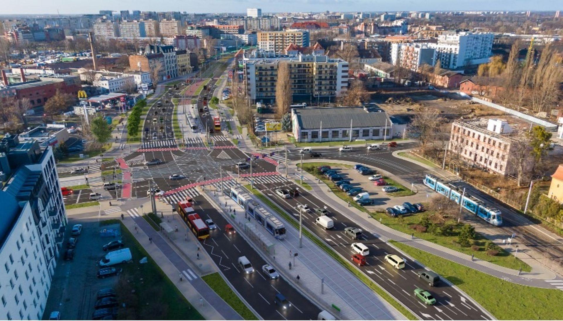 Wrocław: Można podpisać umowę z wykonawcą kolejnego odcinka trasy tramwajowej na Popowice