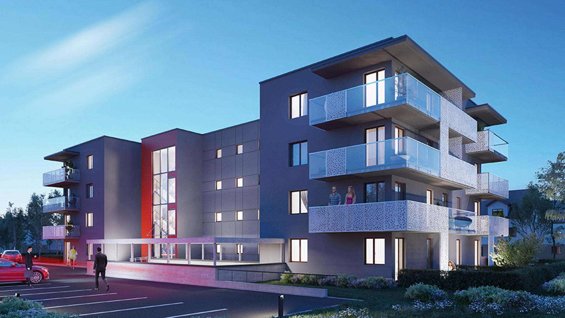 Kraków: Nova Chełmońskiego – Krak Estates buduje mieszkania w pobliżu Galerii Bronowice
