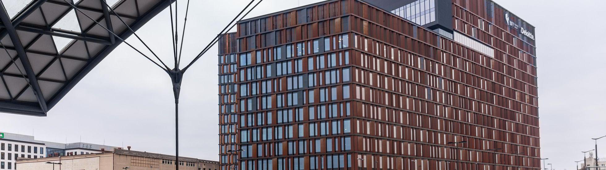 [Łódź] Rynek biurowy w Łodzi przekroczył pół miliona metrów kwadratowych