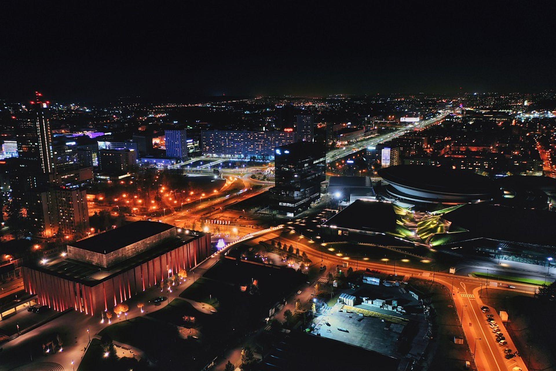 Katowice z coraz większą ilością powierzchni biurowych