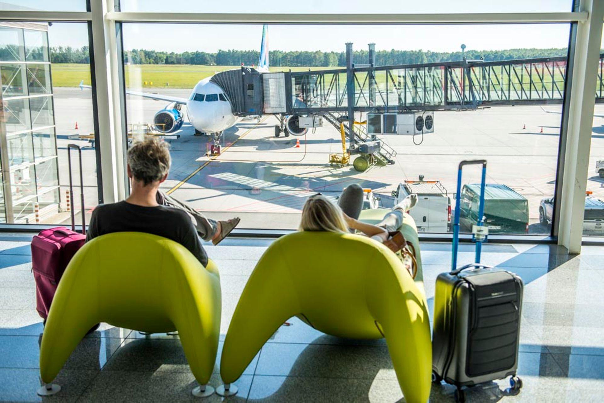 Wrocław: Rekordowy lipiec wrocławskiego lotniska