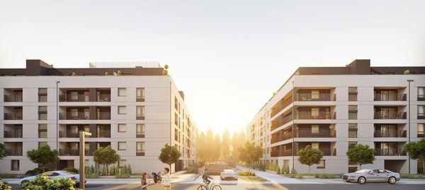 Resi4Rent Wrocław Kępa Mieszczańska – blisko 300 mieszkań na wynajem powstaje przy Odrze [WIZUALIZACJE]