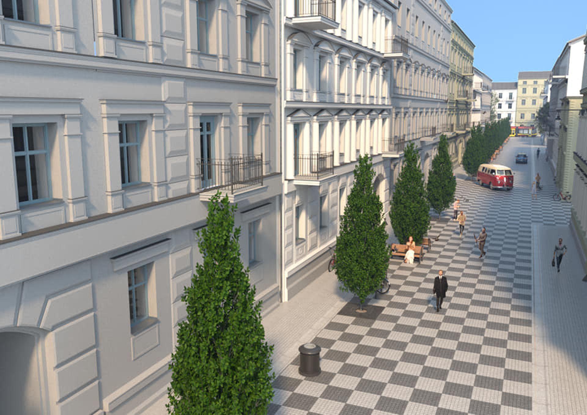 Łódź: Trzy kamienice przy Włókienniczej zyskały nowy wygląd