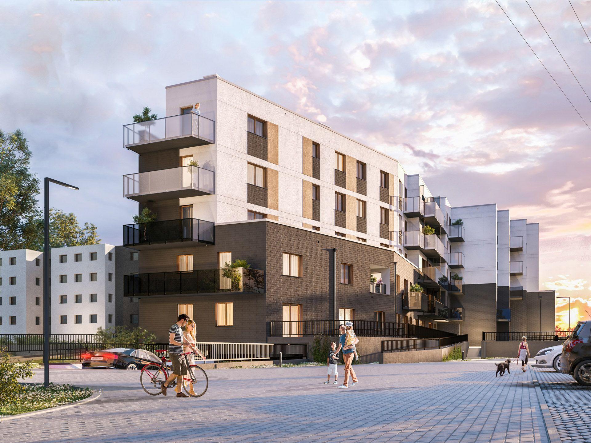 Develia wybuduje na Krzykach budynek wielorodzinny Mist House
