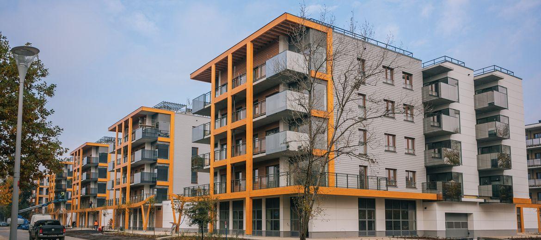 Kompleksowe osiedle społeczne nad