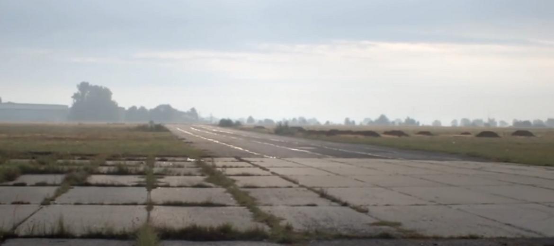 Lotnisko w Legnicy – stan obecny (foto: youtube.com)