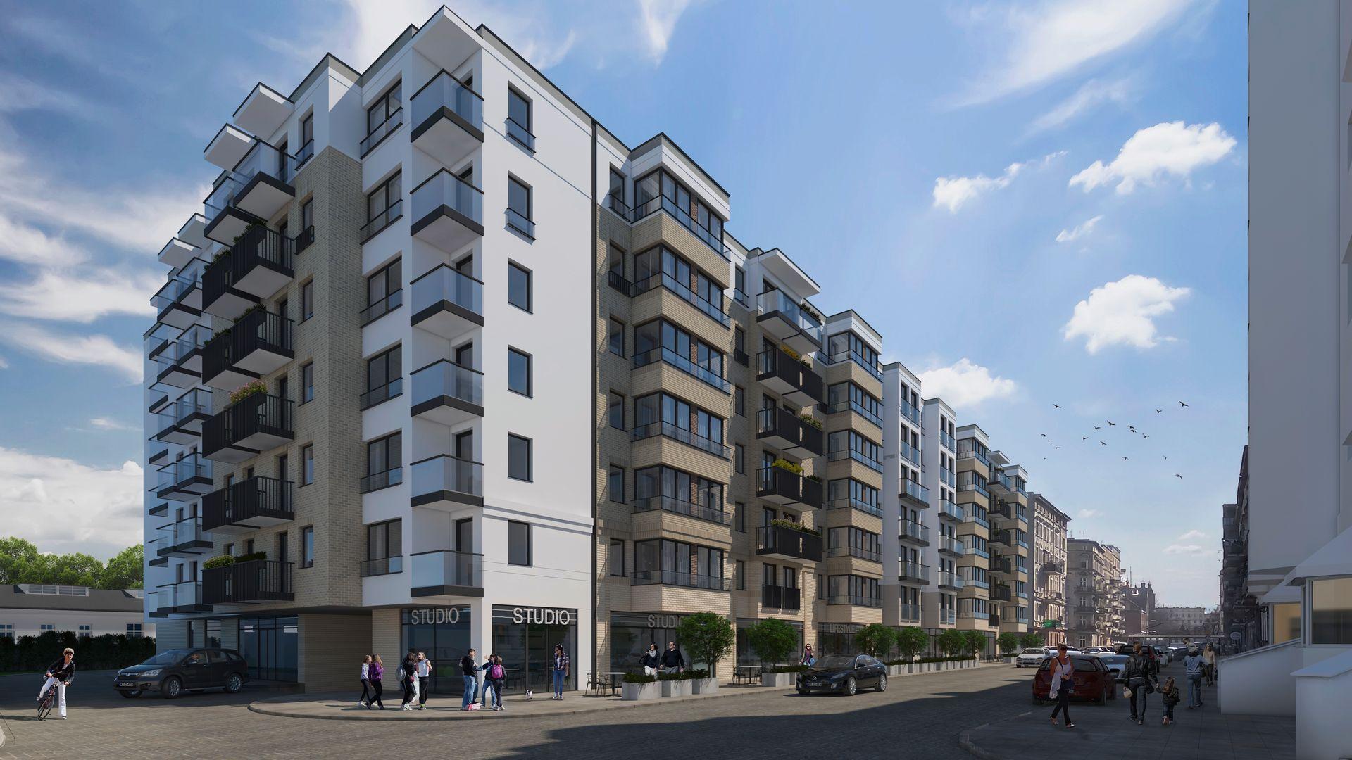 Wrocław: Zajezdnia – Bouygues Immobilier ponownie inwestuje na Nadodrzu. Tym razem postawi nowy blok [WIZUALIZACJA]