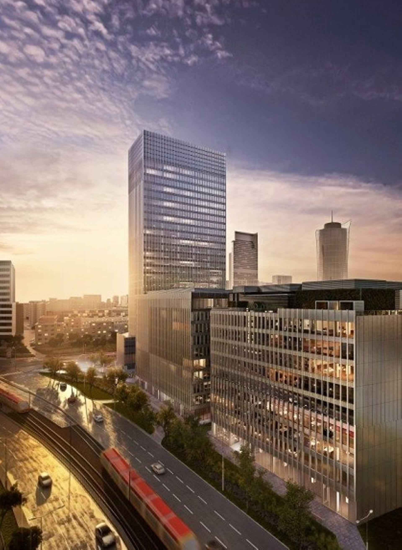 Warszawa: Co z budową wieżowca na serku wolskim? Sięgnie ponad sto metrów