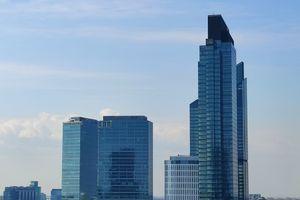 W Warszawie trwa budowa ponad 200-metrowego wieżowca Warsaw Unit [FILM]