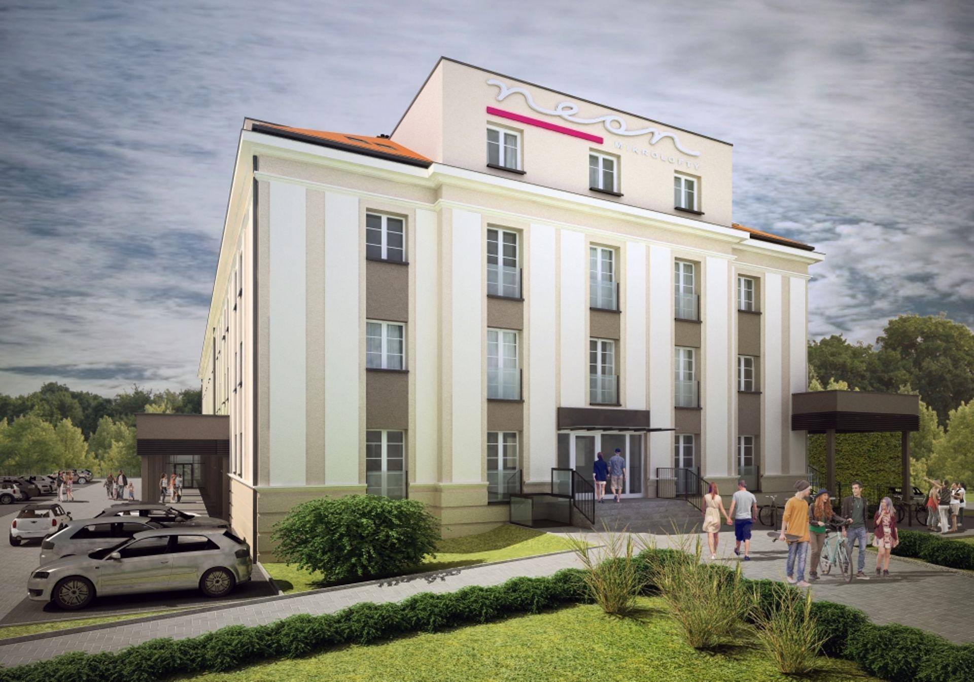 W centrum wrocławskiego Psiego Pola powstanie nowy hotel [WIZUALIZACJE + ZDJĘCIA]