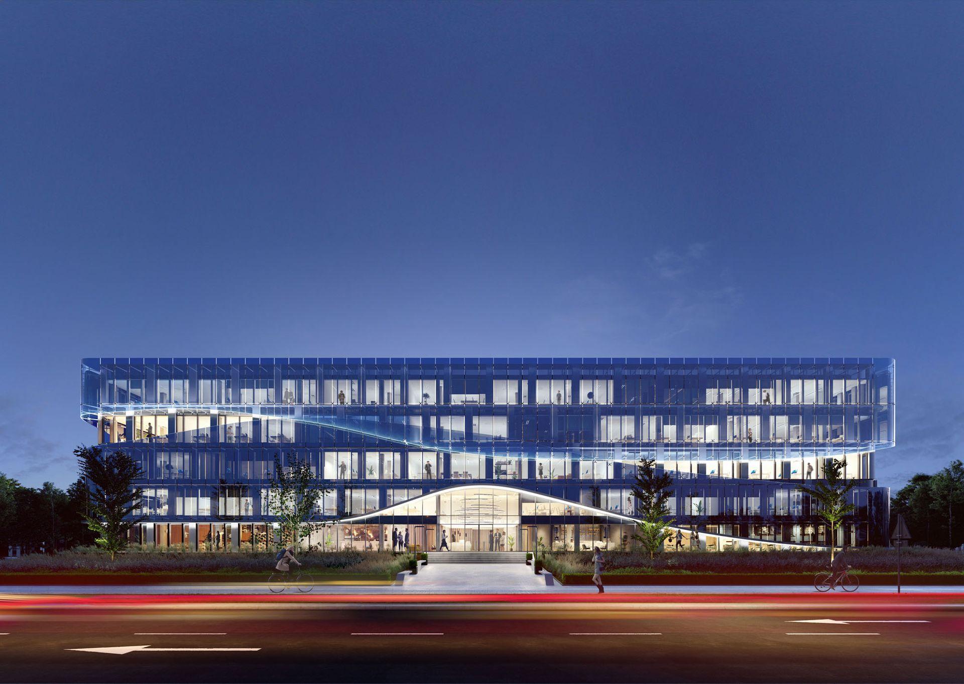 Kraków: Cavatina rusza z budową największego biurowca w kompleksie Ocean Office Park