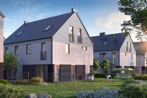 Wrocław: Rodzinne Żerniki – CTE wybuduje kameralne osiedle w sąsiedztwie przedszkola [WIZUALIZACJE]
