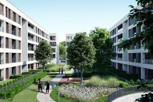 Poznań: Bookowska 18 – Monday Development zbuduje mieszkania w sąsiedztwie Starego Zoo [WIZUALIZACJE]