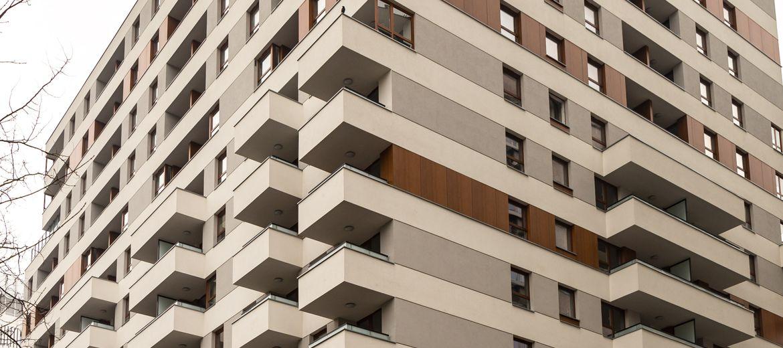 Budynek Apartamenty Pereca w