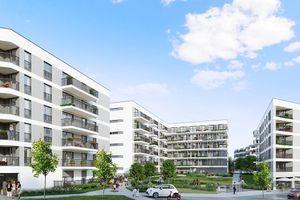 Kraków: Przestrzenie Banacha – Buma rusza z etapowaną inwestycją na Prądniku Białym [WIZUALIZACJE]
