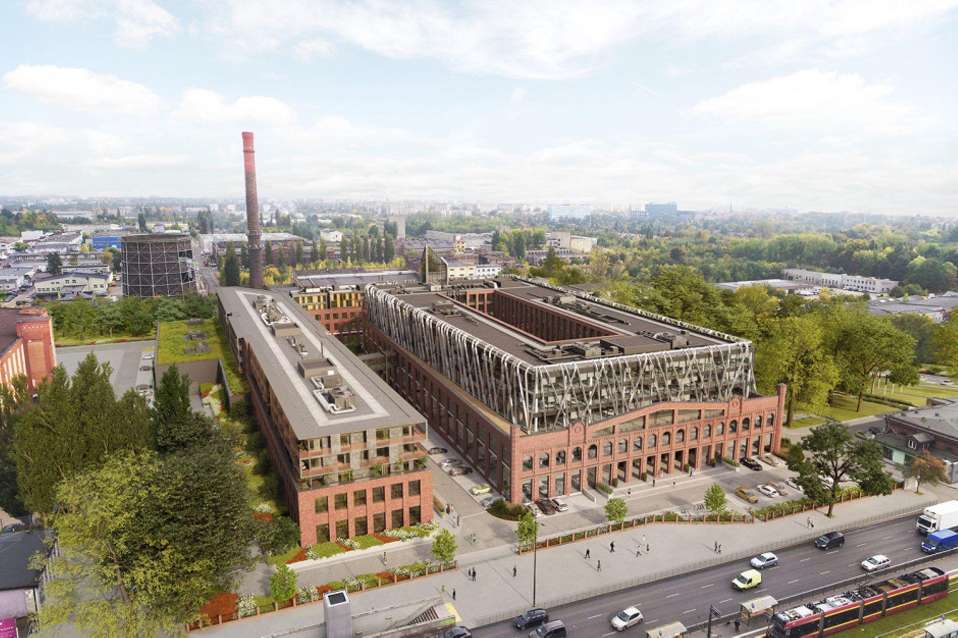 Łódź: Cavatina ruszyła z budową Widzewskiej Manufaktury