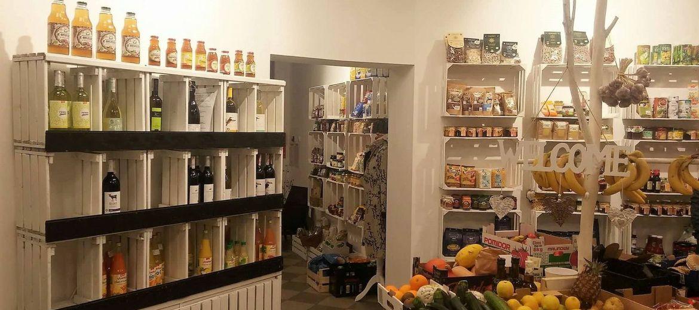 Zdrowa żywność w galerii