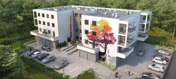 Łódź: Ogrody Sztuki – Golden Lion Development ruszył z budową na Bałutach [WIZUALIZACJE]