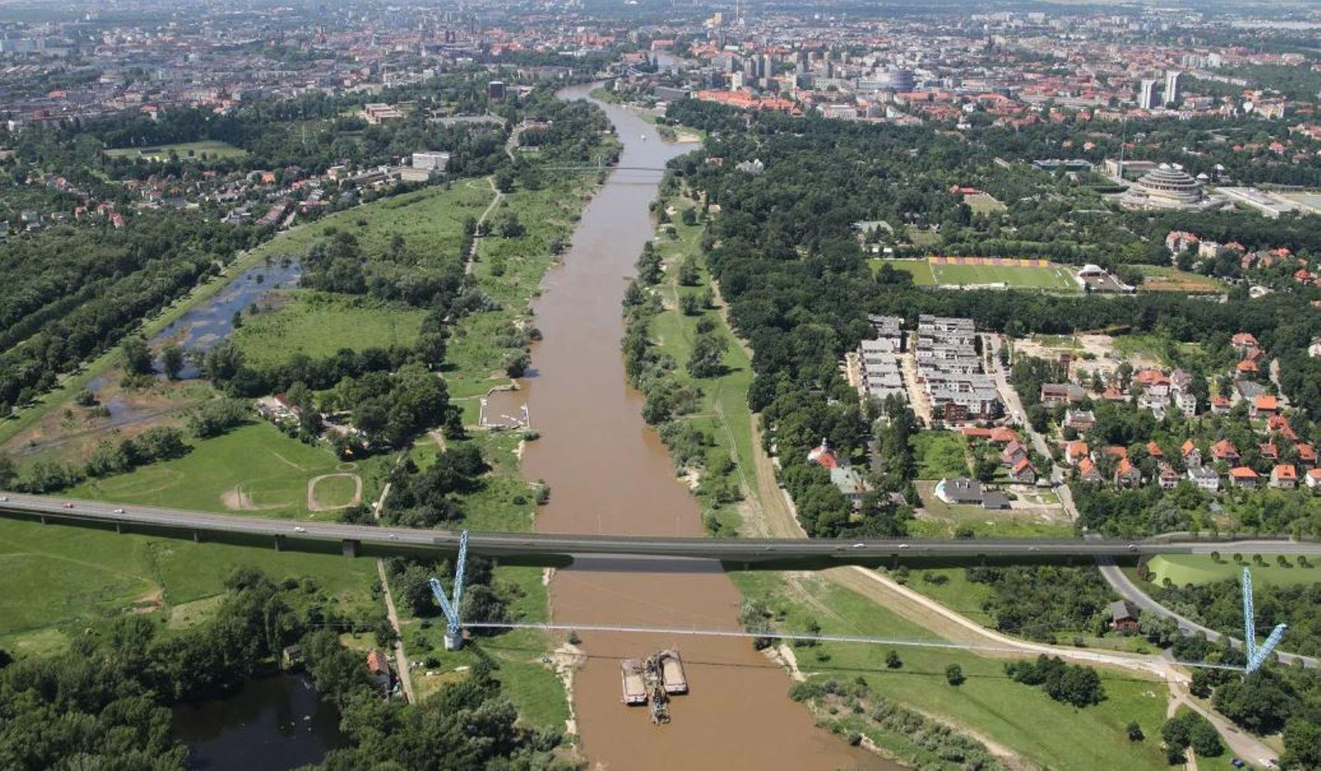 Wrocław: Rusza budowa Alei Wielkiej Wyspy wraz z nowymi mostami nad Odrą i Oławą