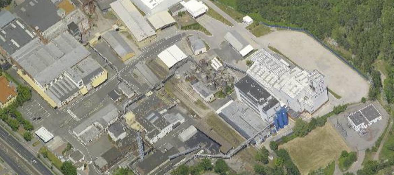 Fabryka E&S Industry S.A. przy ulicy Krakowskiej we Wrocławiu (foto:  ukosne.gis.um.wroc.pl)