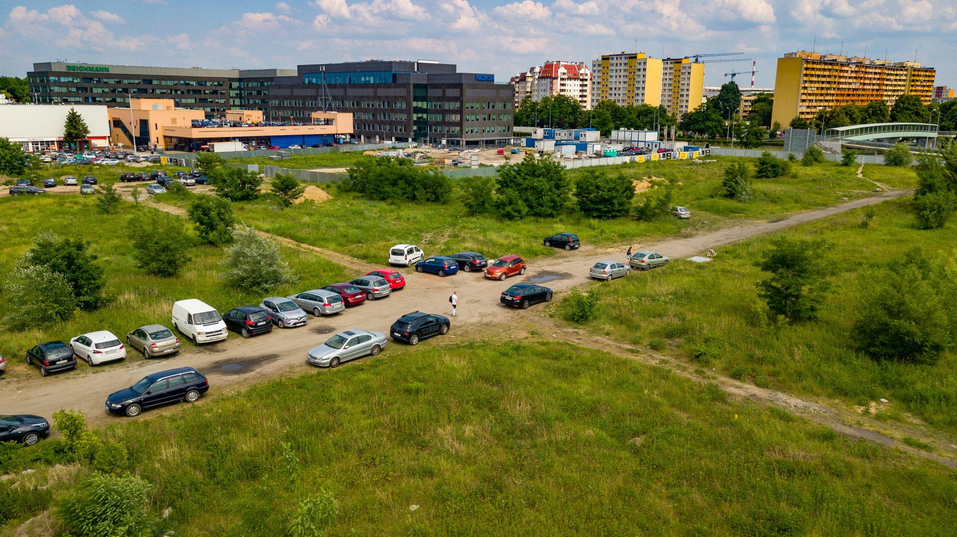 Wrocław: Echo Investment wybuduje trzeci biurowiec na Gądowie Małym. Będzie większy od poprzednich?