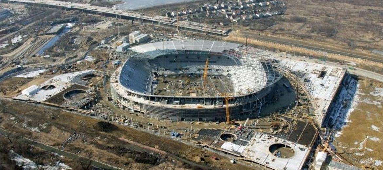 Wrocław 2012: budowa stadionu