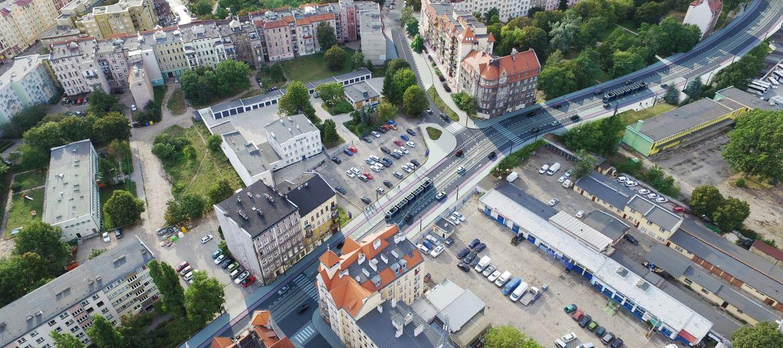Budowa trasy tramwajowej na