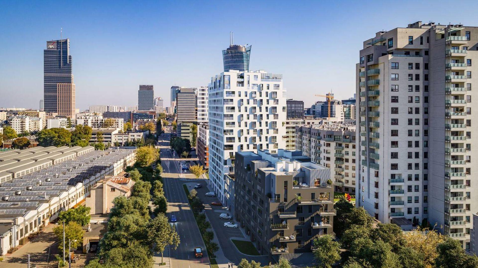 Warszawa: W Apartments – apartamentowiec na Woli od Marvipolu sięgnie piętnastu pięter