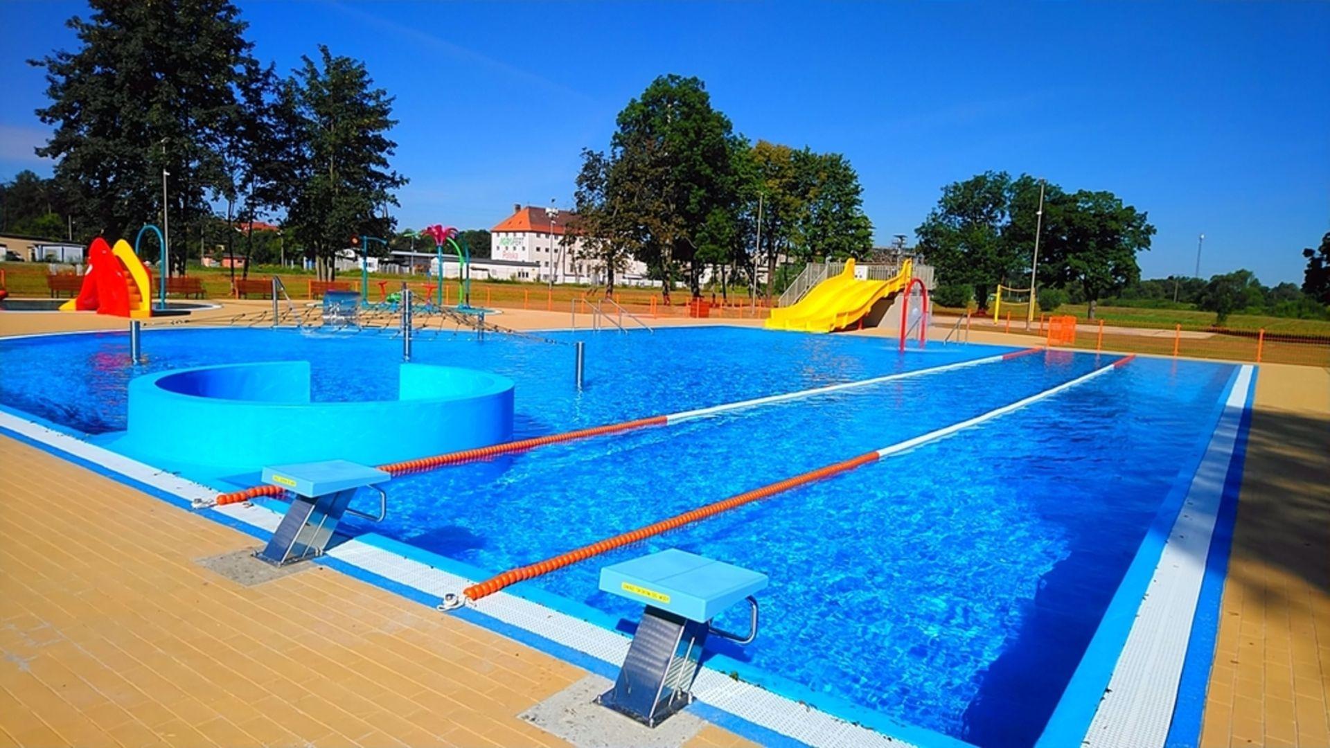 Otwarto nowy kompleks basenów letnich w Lwówku Śląskim