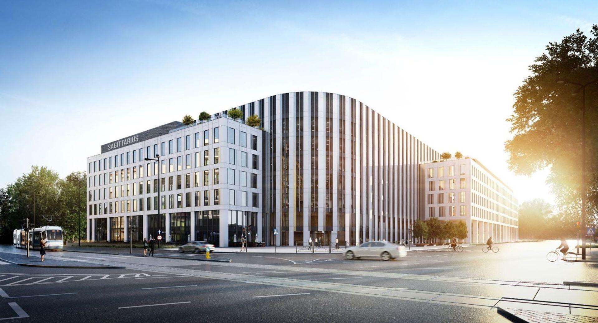 [Wrocław] Centrum Usług Wspólnych EY wynajmuje biura w Sagittariusie