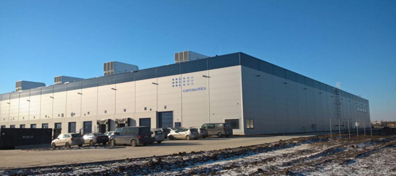 Nowa fabryka Carcoustics w Bielanach Wrocławskich (foto: materiały inwestora)