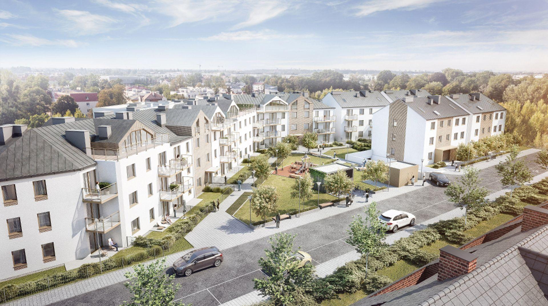 [Wrocław] Kameralna Klecina – Vantage Development rusza ze sprzedażą mieszkań na południu Wrocławia [WIZUALIZACJE]