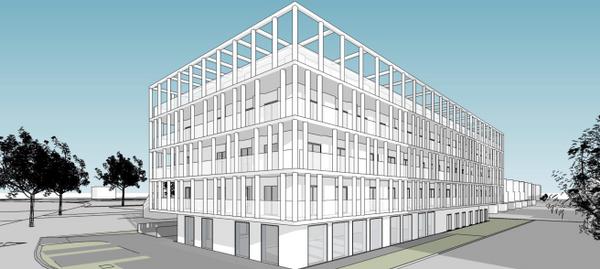 Wrocław: Świeradowska 75A – Nacarat zbuduje mieszkania przy Wzgórzu Gajowym [WIZUALIZACJE]