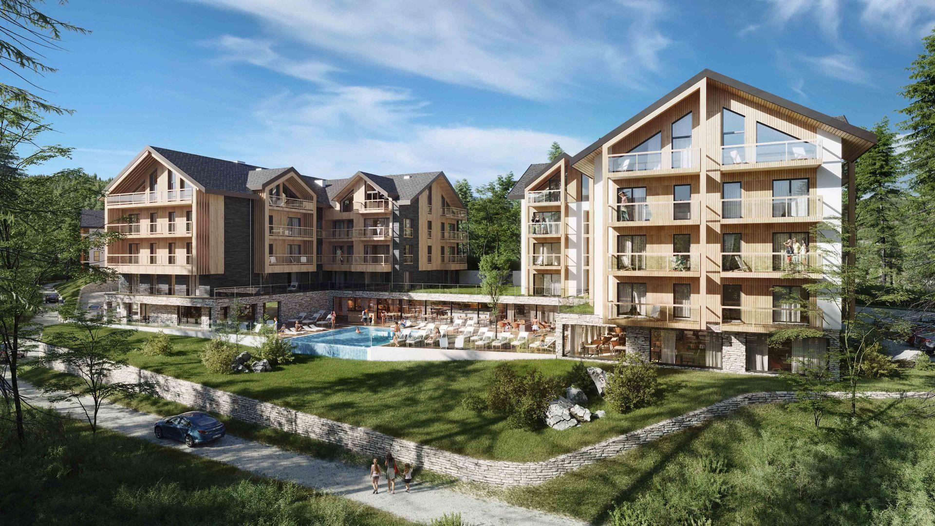 W Szklarskiej Porębie trwa budowa kompleksu Horizon Hotel & Resort